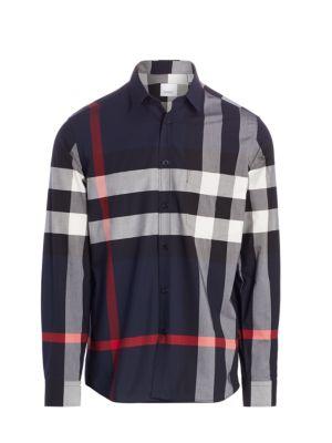 Simpson Stretch Cotton Check Shirt