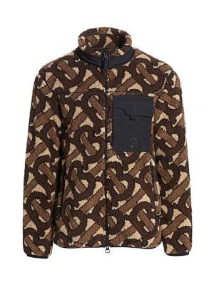 Southmead Logo Wool-Blend Fleece Jacket