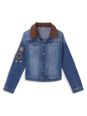 Kid's Manning Patch Denim Jacket