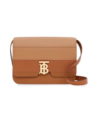 Medium TB Leather Crossbody Bag