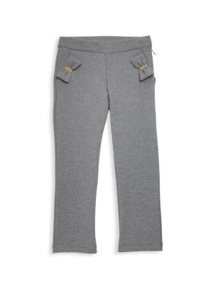 Little Girl's Bow-Pocket Trousers