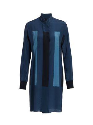 Costellazione Long Silk Tunic Blouse