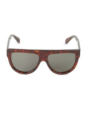 58MM Pilot Sunglasses