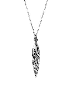 Lahar Diamond & Sterling Silver Pendant Necklace