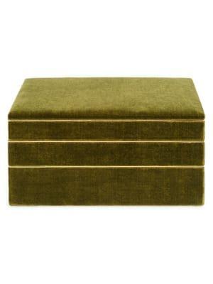 Valentina Velvet Stacked Jewelry Box