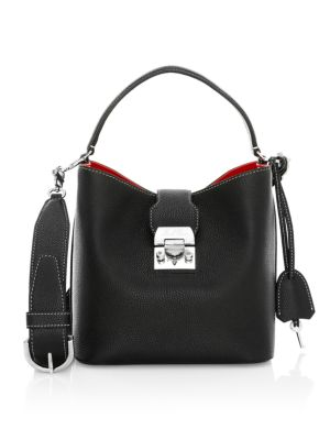 Mini Murphy Leather Bucket Bag