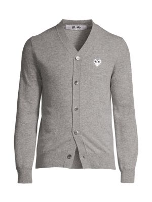 Wool Logo Cardigan