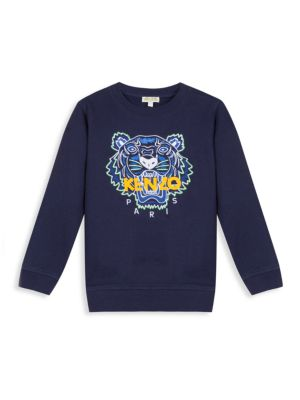 Little Boy's & Boy's Tiger Sweatshirt