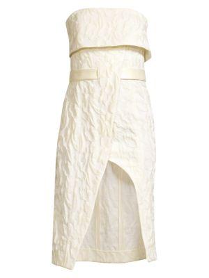 Isotta Wrap Tie Dress