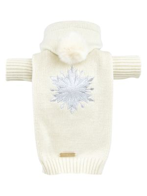 Disney's Frozen 2 Max-Bone Sequin Snowflake Dog Sweater
