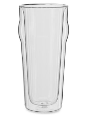 Promo 2-Piece Double-Wall Beer Pint Glass Set