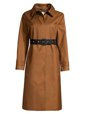Roslin Wool & Mohair Trench Coat