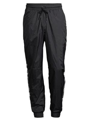 Relaxed Nylon Jogging Pants