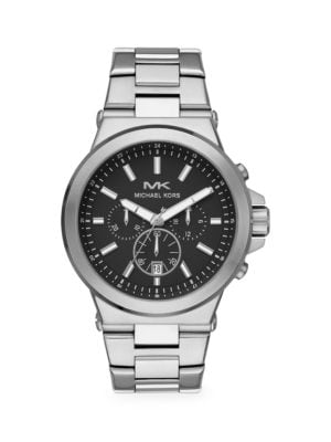 Dylan Stainless Steel Bracelet Chronograph Watch