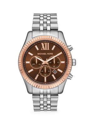 Lexington Stainless Steel Chronograph Watch