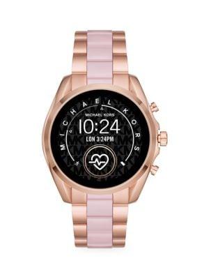 Access Bradshaw Two-Tone Stainless Steel & Acetate Bracelet Touchscreen Smart Watch