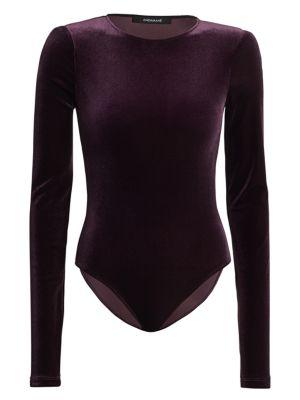 Bea Velvet Bodysuit