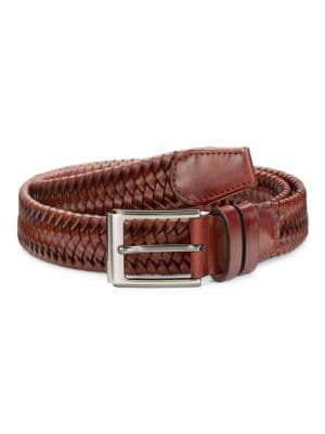 COLLECTION Braided Leather Belt