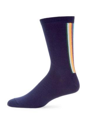 Artist Vertical Stripe Socks