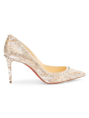 Anjalina Spiked Cork Pumps
