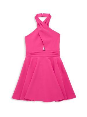 Little Girl's & Girl's Cady Halter Dress