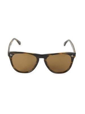 RS20 Daddy Tortoise 55MM Square Sunglasses