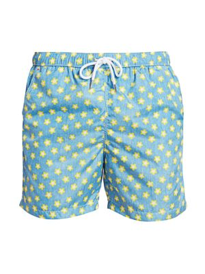 COLLECTION Floral Swim Trunks