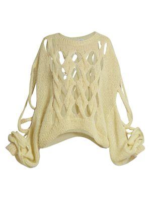 Open-Knit Sweater