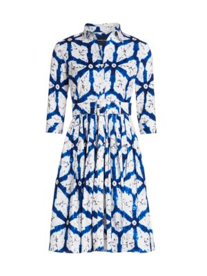 Audrey Graphic-Print Shirtdress