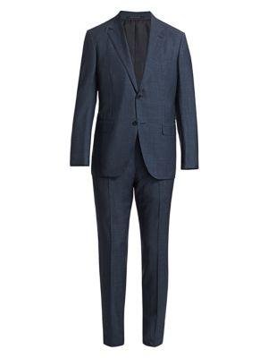 Trofeo Tonal Plaid Suit