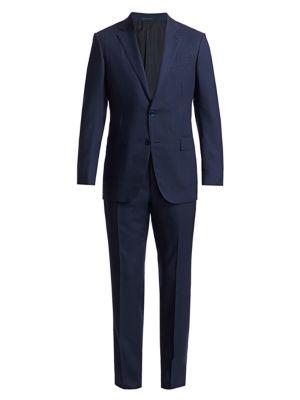 Tonal Check Cashmere Suit
