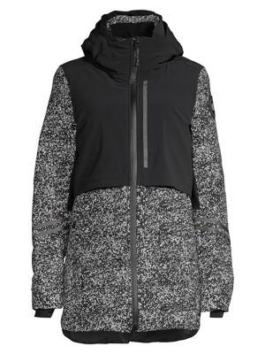 Splatter Print Hybridge Element Jacket