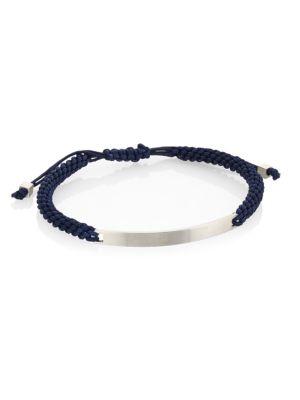 COLLECTION Macramé ID Bracelet