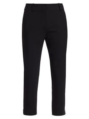 Nicole Stretch Virgin-Wool Crop Pants
