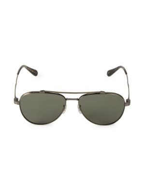 RS20 56MM Rikson Polarized Aviator Sunglasses
