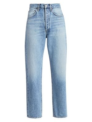 90s Mid-Rise Loose-Fit Jeans