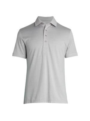 Cotton & Silk Polo