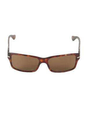 RS20 58MM Rectangle Sunglasses