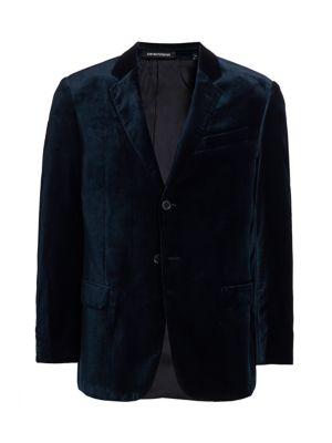 G Line Velvet Sportcoat