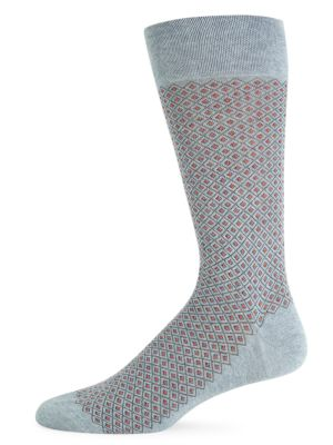 Basket Pinpoint Crew Socks