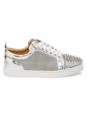 Louis Junior Spikes Metallic Sneakers