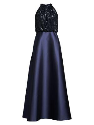 Patricia Sequin Bodice Ball Gown