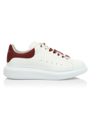 Platform Leather Sneakers