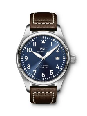 Pilot Mark XVIII Le Petit Prince Stainless Steel & Leather Strap Watch