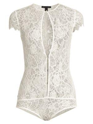 Coquette Lace Keyhole Bodysuit