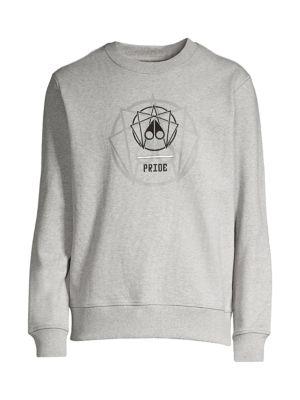 Pride Logo Embroidery Sweatshirt