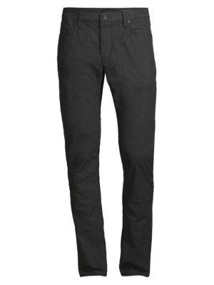 Bowery Slim-Fit Straight-Leg Pinstripe Pants