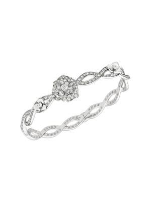 Piaget Rose 18K White Gold & Diamond Bracelet
