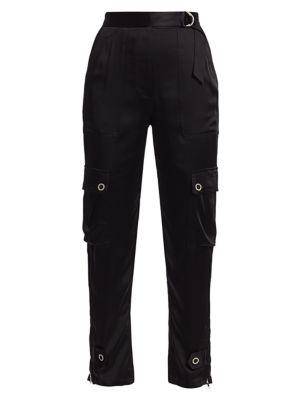 Classic Woven Sateen Pants