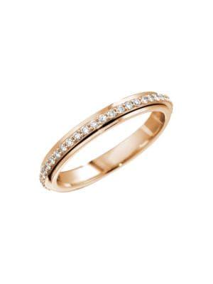 Possession 18K Rose Gold & Diamond Ring